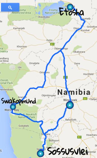 namib road trip